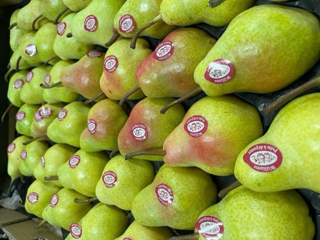 Saison des poires d'outre-mer pour les amateurs des meilleures poires